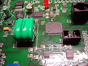 Sección de electrónica